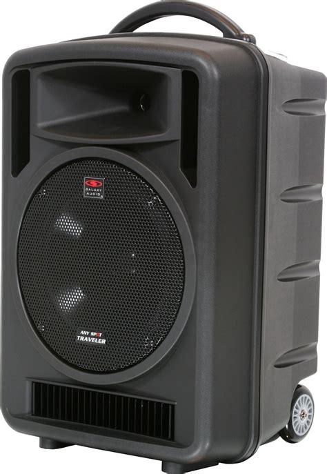galaxy audio tv portable pa system