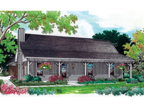 French Country Ranch House Plans For Narrow Lots HOUSE