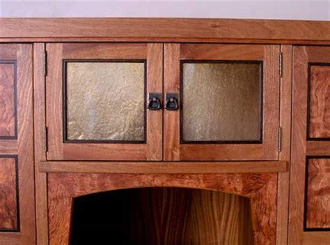 mission corner cabinet