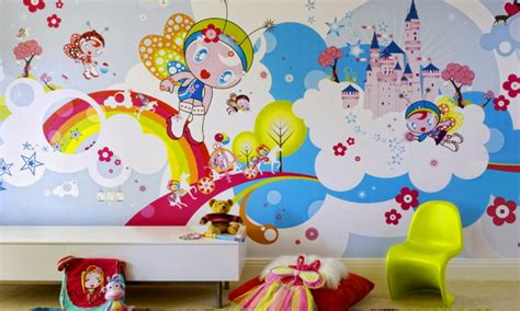 wallpaper designs for kids fantastic kids bedroom interior design ideas with
