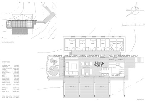 Plan, Experimental Bioclimatic House Tenerife