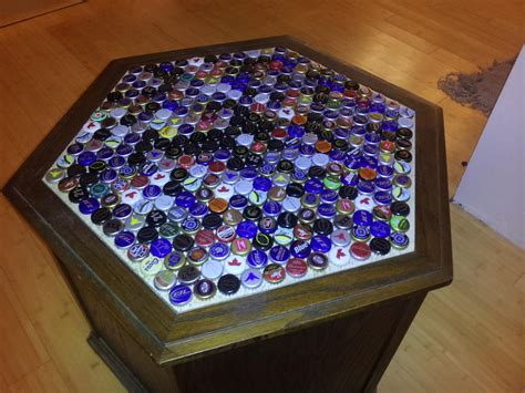 mexican beer table tops 18 diy beer bottle cap table designs guide patterns