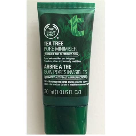 Serum Tea Tree Shop test serum konzentrat the shop tea tree pore minimiser testbericht estrelladecanela