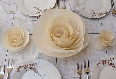 Paper Table Decorations To Make - simple diy paper table runner budget brides