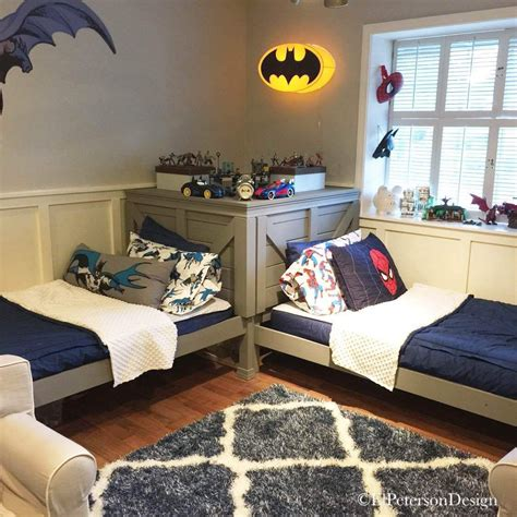 boys bedroom idea how to transform a bunk bed into twin beds