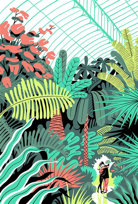 picture book illustrator in the greenhouse on behance
