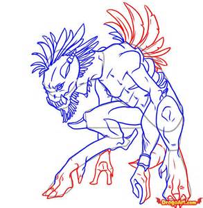 how to draw doodle creatures how to draw a creature step by step creatures monsters