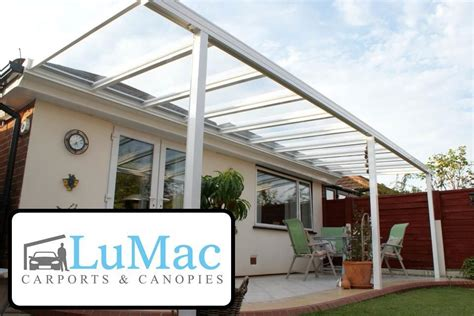 glas carport glass clear carport patio canopy cover lean to awning