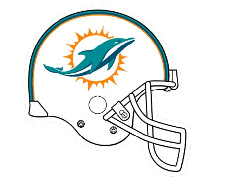 Big Stomp Pro Football Helmet Coloring Football Helmet Miami Dolphins Coloring Pages
