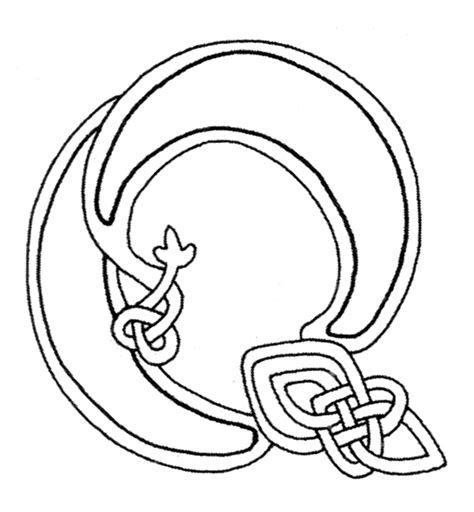 celtic alphabet coloring pages 1000 images about printables on pinterest ruled paper