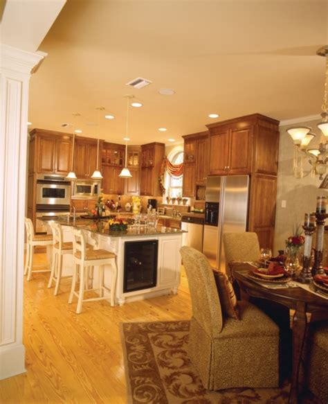 Kitchen And Dining Room Open Floor Plan Open Floor Plans Open Home Plans House Plans And More Dining Decorate