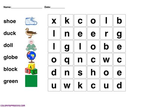 printable children s games and puzzles easy crossword