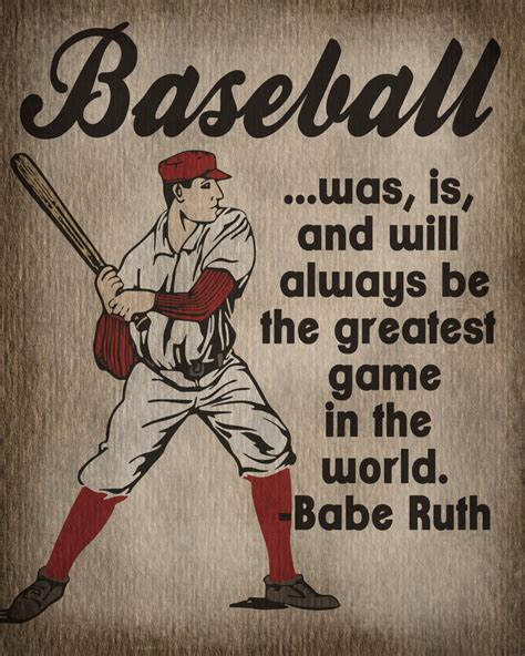 Vintage Baseball Decor by Sport Print Vintage Baseball Print Room Decor