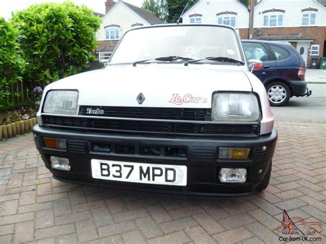 renault silver 1985 renault 5gd turbo silver gordini turbo le car 2 turbo