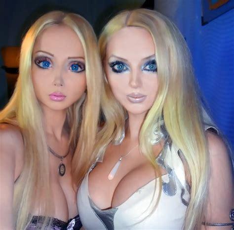 ukraines real life barbies to bring spirituality to meet real life barbie valeria lukyanova s twin olga