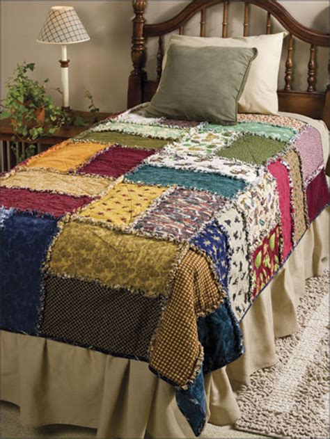Rag Quilt Squares by Sewing Scrappy Rag Quilt