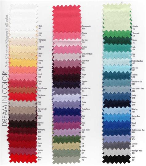 wedding color swatches alfred angelo colors mahogany berry grape