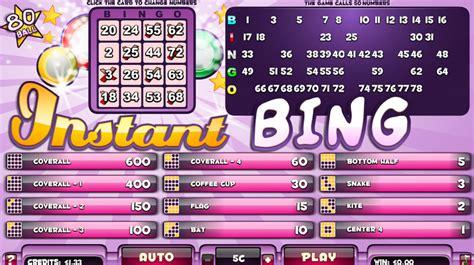 Instan Bergo bingo splash bingo