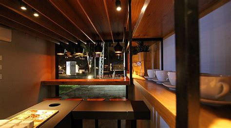 coffee shop design competition mobile coffee shop built in five weeks for a design