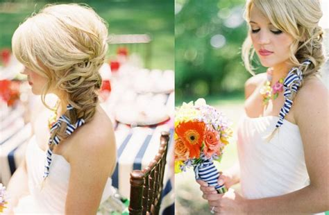 wedding hairstyles with side braid wedding hairstyle side braid onewed