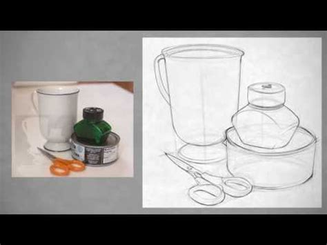 Kitchen Artwork Ideas by Drawing Shape Simple Still Life Youtube