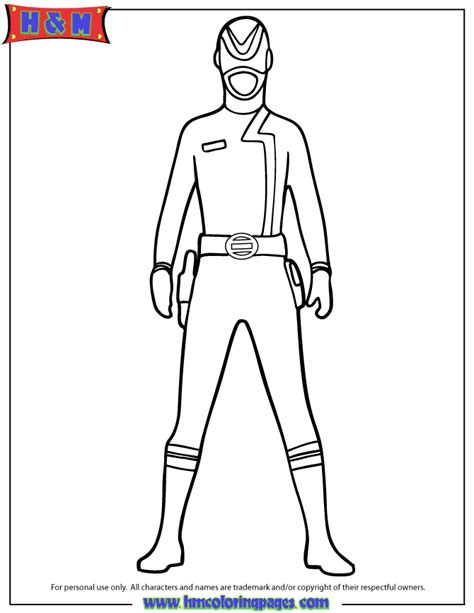red power ranger coloring page h m coloring pages