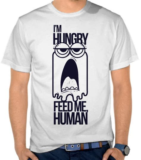 Kaos Distro Wars Comic 15 jual kaos i m hungry feed me human lucu casual satubaju
