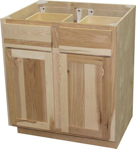 Quality One Cabinets by Quality One 30 Quot X 34 1 2 Quot Unfinished Hickory Base