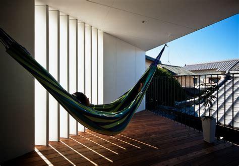 designboom osaka hammock house by uzu architects looks out to osaka japan