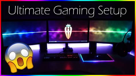 gaming setup my ultimate 2017 gaming setup room tour 163 4000 ultimate