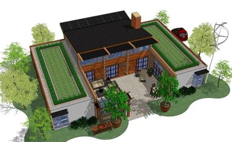 netzero house plan house design ideas