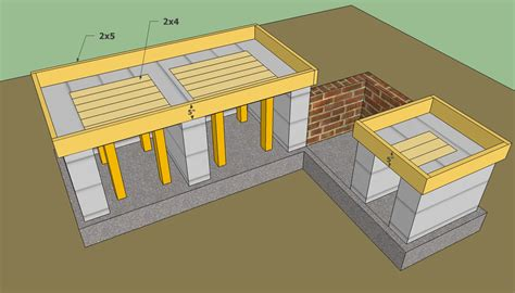 outdoor kitchen plans free howtospecialist how to build step by step diy plans