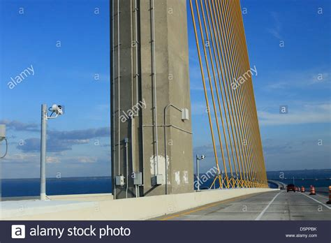 boat rs near skyway bridge sunshine skyway bridge stock photos sunshine skyway