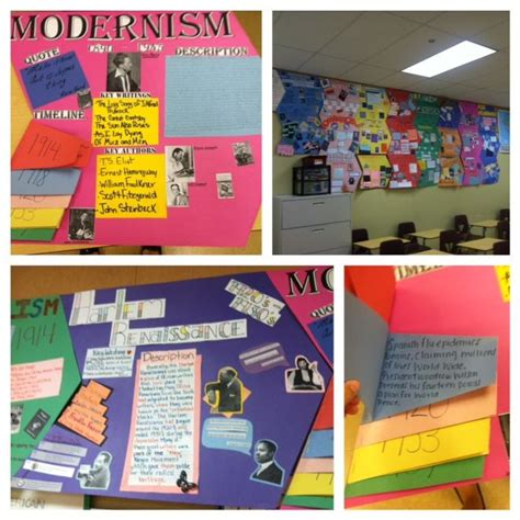 themes for english project amazing student created american literature timeline