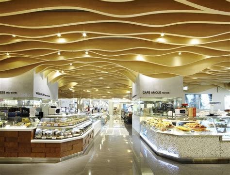 Stunning Bakery Cafe With Drop Down Ceiling Combined