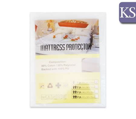 King Size Single Bed Mattress Protector Fitted Waterproof Soft Cover Mattress Protector King