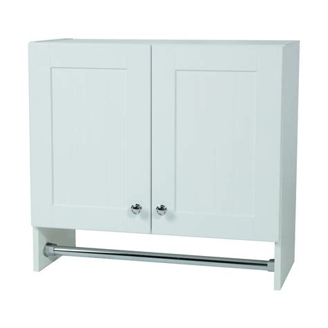 laundry room wall cabinets glacier bay laudry assembled 27 x 25 x 12 in wall cabinet in country white wc2725 wh the home