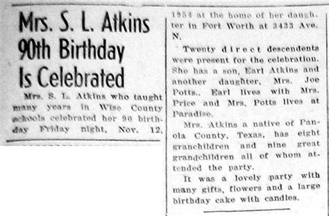 Birth and Birthday Announcements from the Bridgeport Index