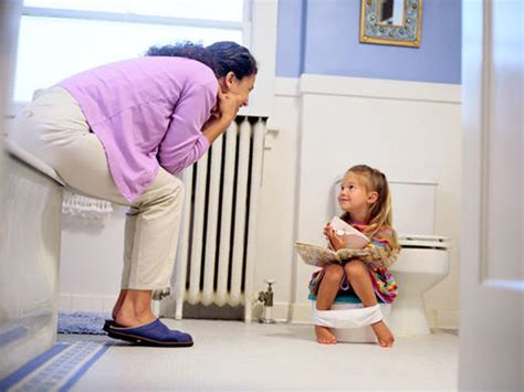 bathroom accidents in older children potty training babycenter canada