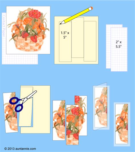 How To Make A Bookmark Out Of Paper For - how to make a paper bookmark crafts