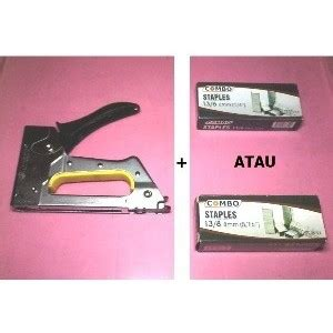 Isi Staples Jok Tembak 8mm jual stapler hekter tembak 1 kotak staples 6mm 8mm