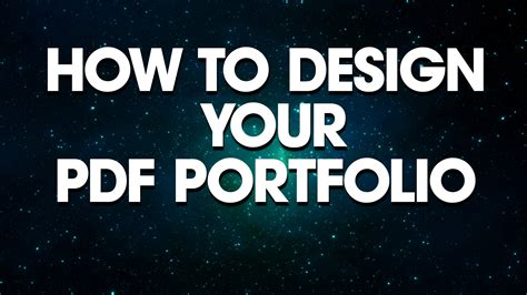 fashion design portfolio sles pdf graphic design how to design your pdf portfolio youtube