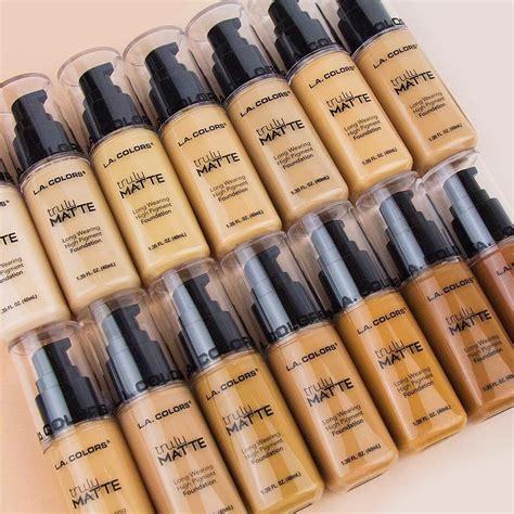 la colors base de maquillaje truly matte l a colors envio gratis