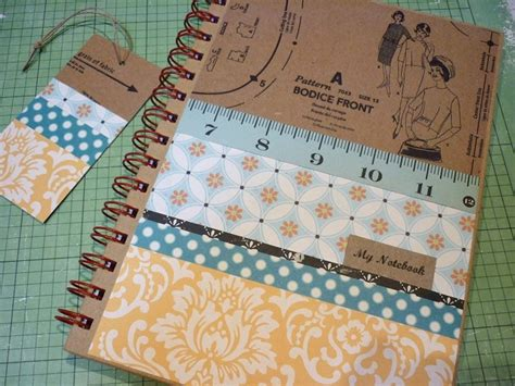 sewing pattern notebook cover 99 best notebook covers ideas images on pinterest