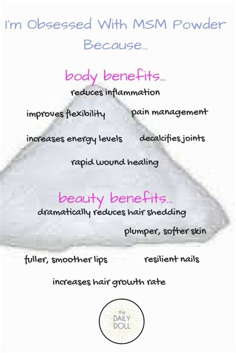Msm Detox Side Effects by 11 Best Images About Mineral Benefits On