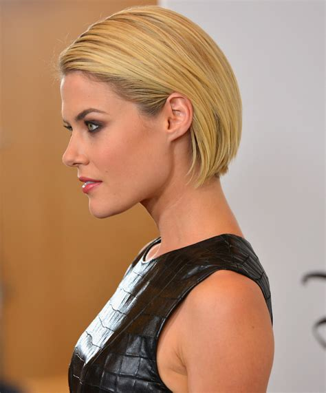 rachael gets bobbed rachael taylor bob short hairstyles lookbook stylebistro