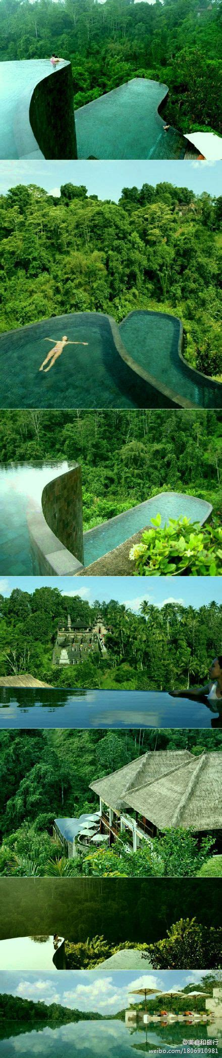 hanging infinity pools in bali 25 best ideas about ubud hanging gardens on pinterest