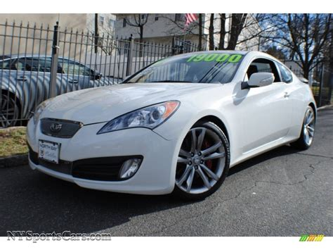 2010 Hyundai Genesis Coupe 3 8 For Sale by 2010 Hyundai Genesis Coupe 3 8 Coupe In Karussell White