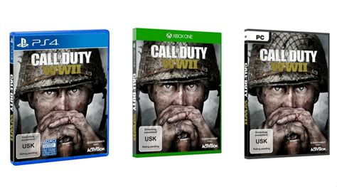 vorbestellen call of duty wwii standard edition