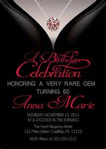 60th birthday invitations birthday invitation